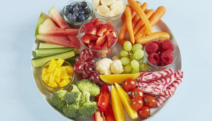 Spiser du mer av det som er ekstra bra for kroppen blir det langt mindre plass til det vi bør spise litt mindre av. (Foto: OFG)