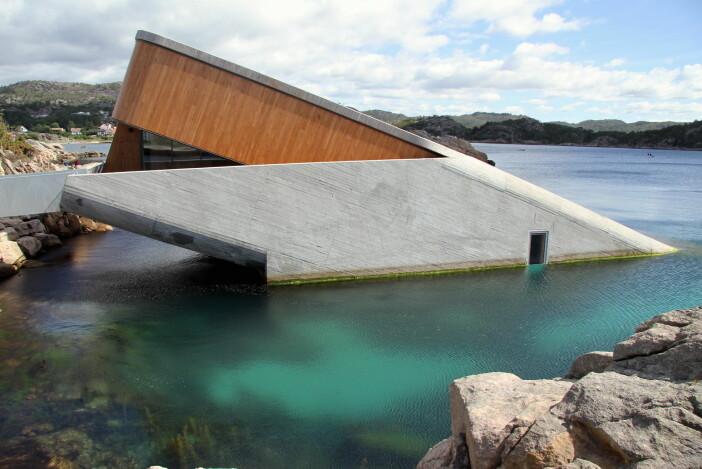 Kan restaurant Under bli den tredje norske vinneren av Nordisk Lyspris. (Foto: Morten Holt)