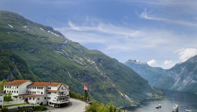 Hotell Utsikten i Geiranger er med i Classic Norway Hotels. (Foto: Christer Olsen/Classic Norway Hotels)