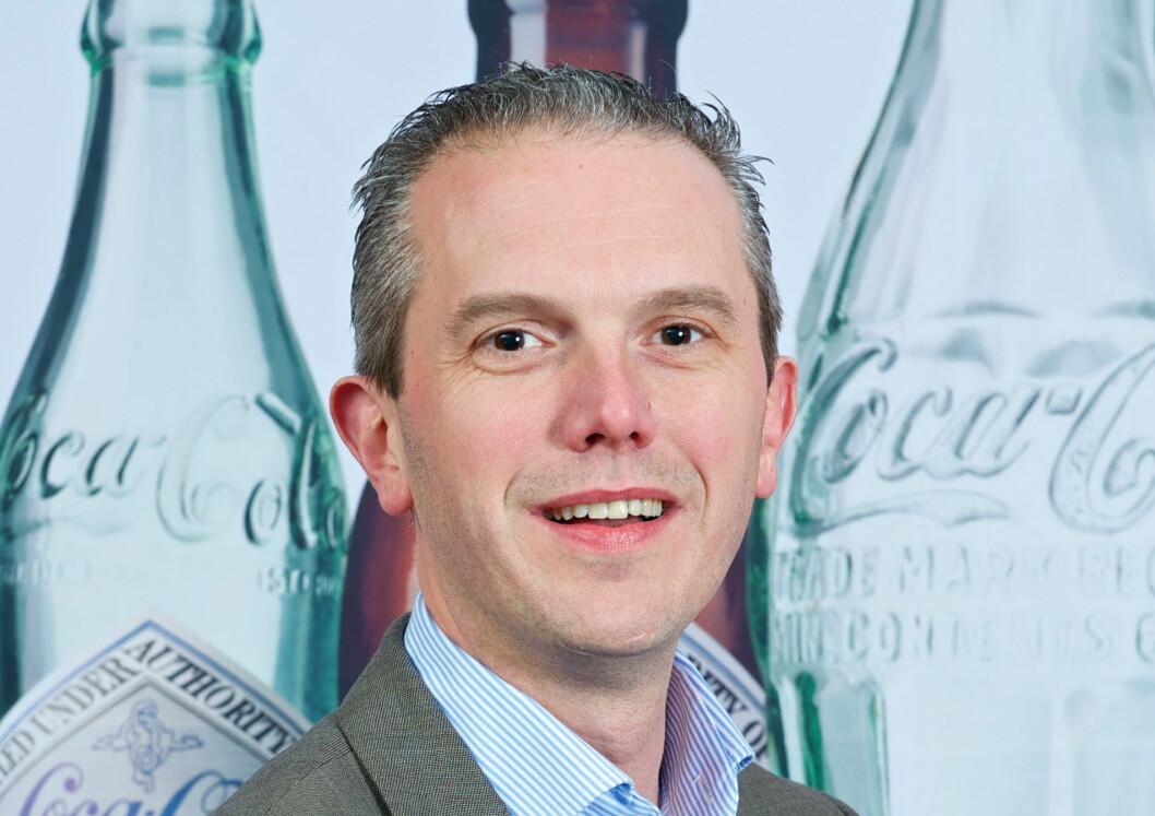 Carl Lescroart er ny administrerende direktør i Coca-Cola European Partners Norge. (Foto: Coca-Cola European Partners Norge)