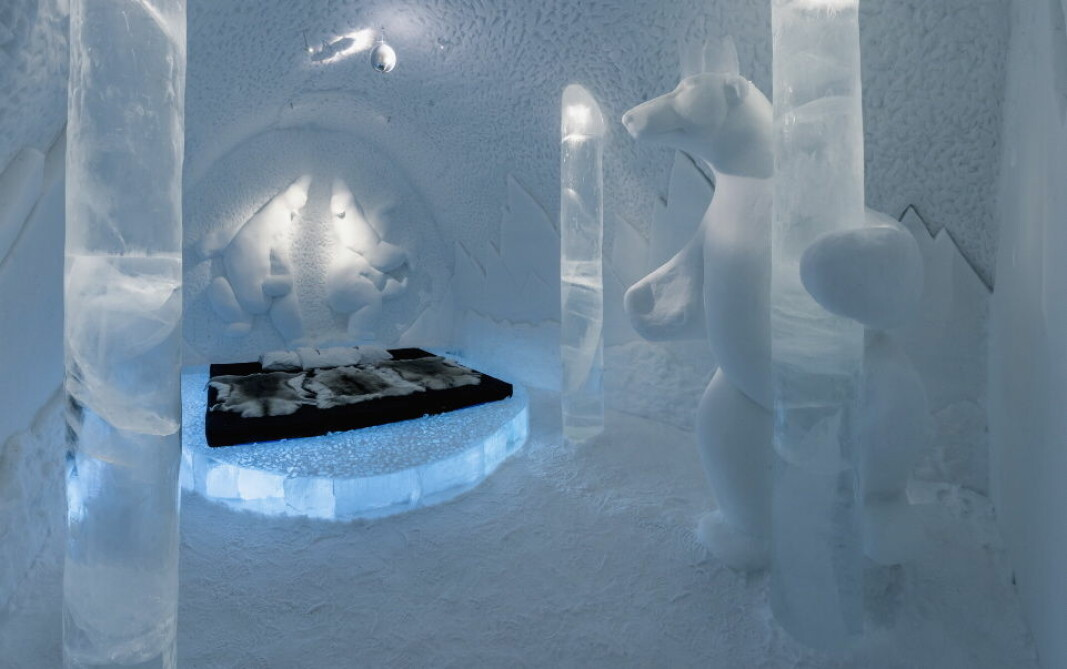 Icehotel. (Arkivfoto: Christopher Hauser)