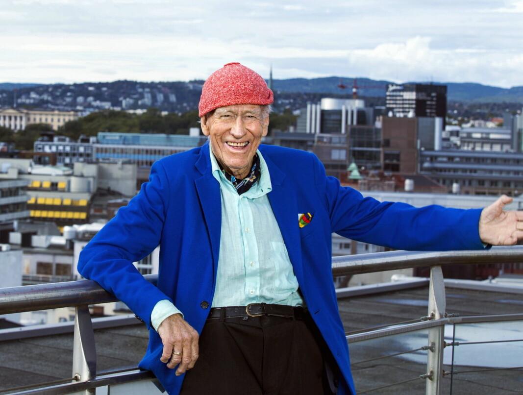 Konsernsjef Olav Thon. (Foto: Gry Traaen)