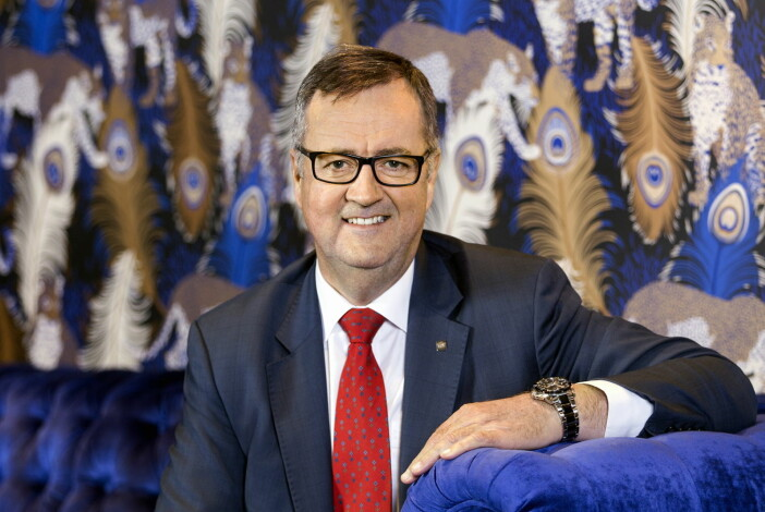 Morten Thorvaldsen, konserndirektør for Thon Hotels. (Foto: Gry Traaen)