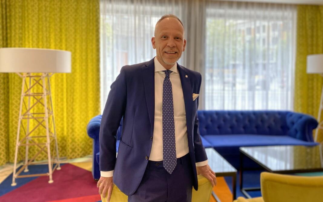 Christian Arnet er hotelldirektør ved Thon Hotel Rosenkrantz. (Foto: Thon Hotels)