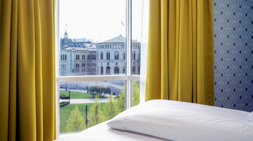 Thon Hotel Cecil ligger like ved Stortinget i Oslo. (Foto: Thon Hotels)