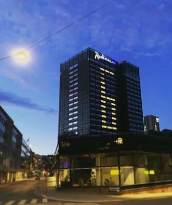 Det telles ned før åpningen på Radisson Blu Scandinavia Hotel. (Foto: Radisson Hotel Group)