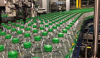 Nå forsvinner den grønne Sprite-flaska