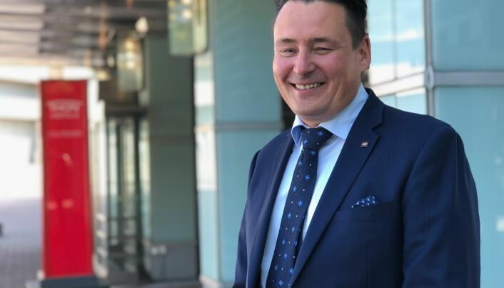 Kent Käldman er hotelldirektør på Thon Hotel Oslofjord i Sandvika. (Foto: Thon Hotels)