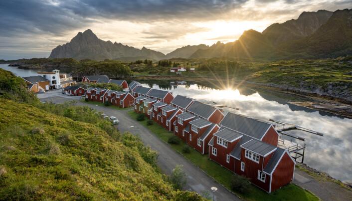 Nyvågar Rorbuhotell er med i Classic Norway Hotels. (Foto: Classic Norway Hotels)