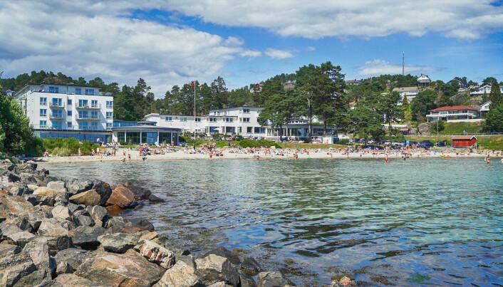 Strand Hotel Fevik er medi Classic Norway Hotels. (Foto: Classic Norway Hotels)
