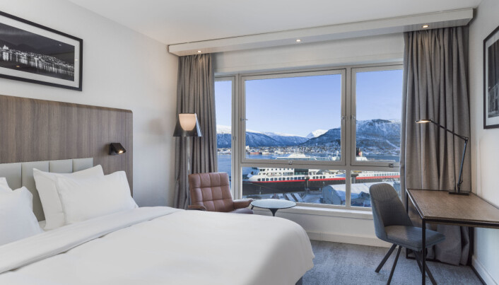 Radisson Blu Hotel Tromsø. (Foto: Rikard Eriksson)