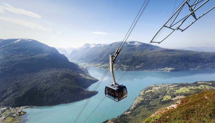 Loen Skylift. (Foto: Marius Beck Dahle)