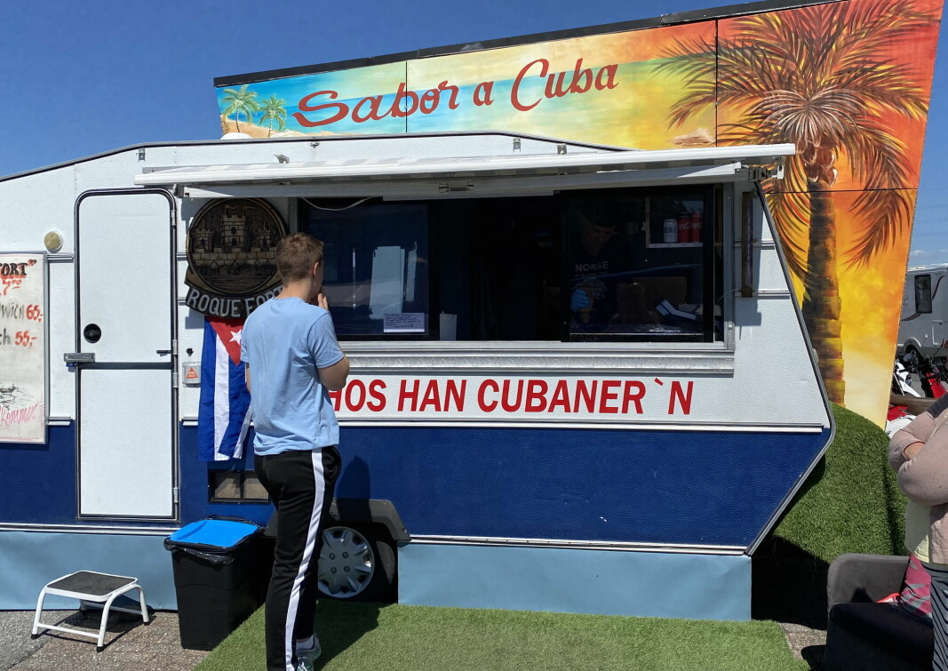 Mario Roque byr på cubansk mat i Fredrikstad. (Foto: Morten Holt)