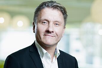 Administrerende direktør i Burger King Norge, Rune Sandvik. (Foto: Bo Mathisen)