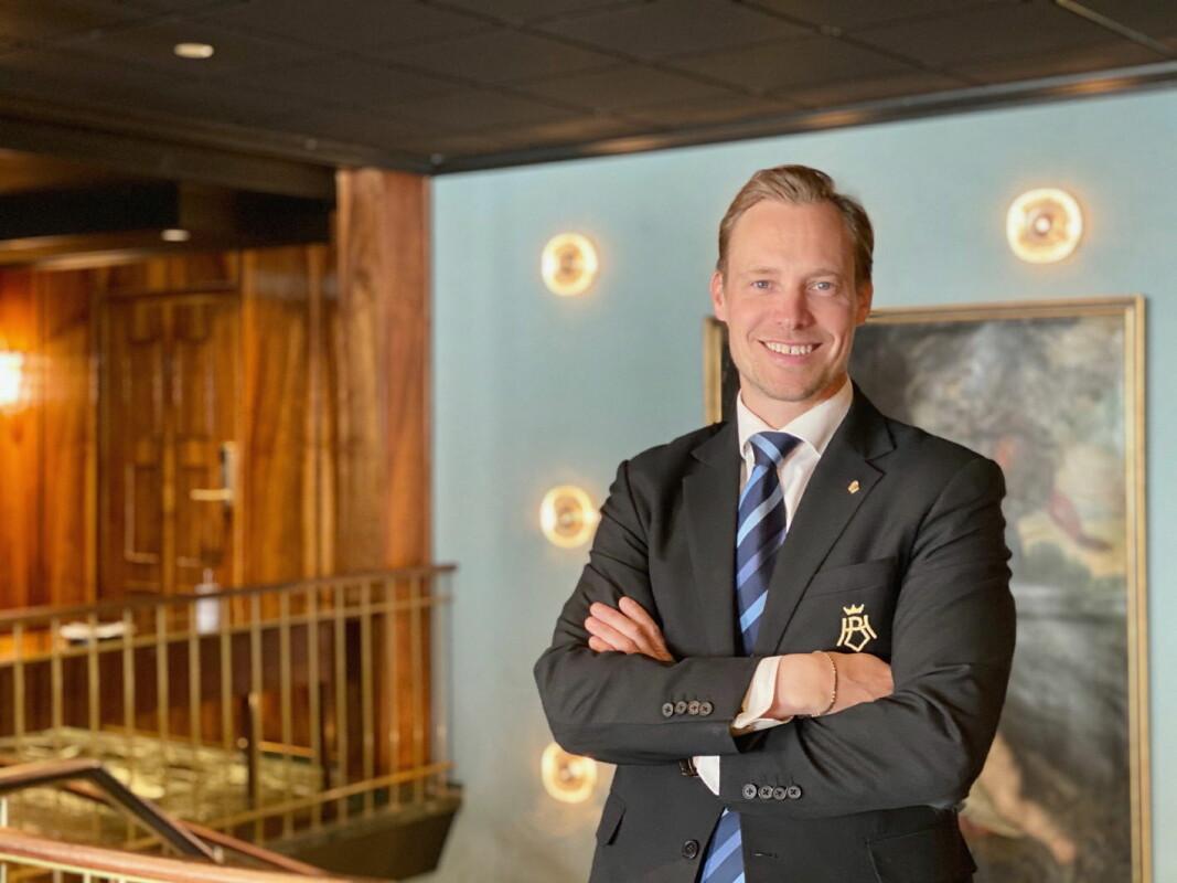 Lars Petter Mathisen er hotelldirektør på Hotel Bristol. (Foto: Hotel Bristol)
