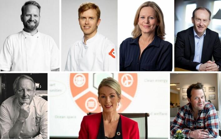 Det nye styret i Stiftelsen Norsk Gastronomi. (Foto: Stiftelsen Norsk Gastronomi)