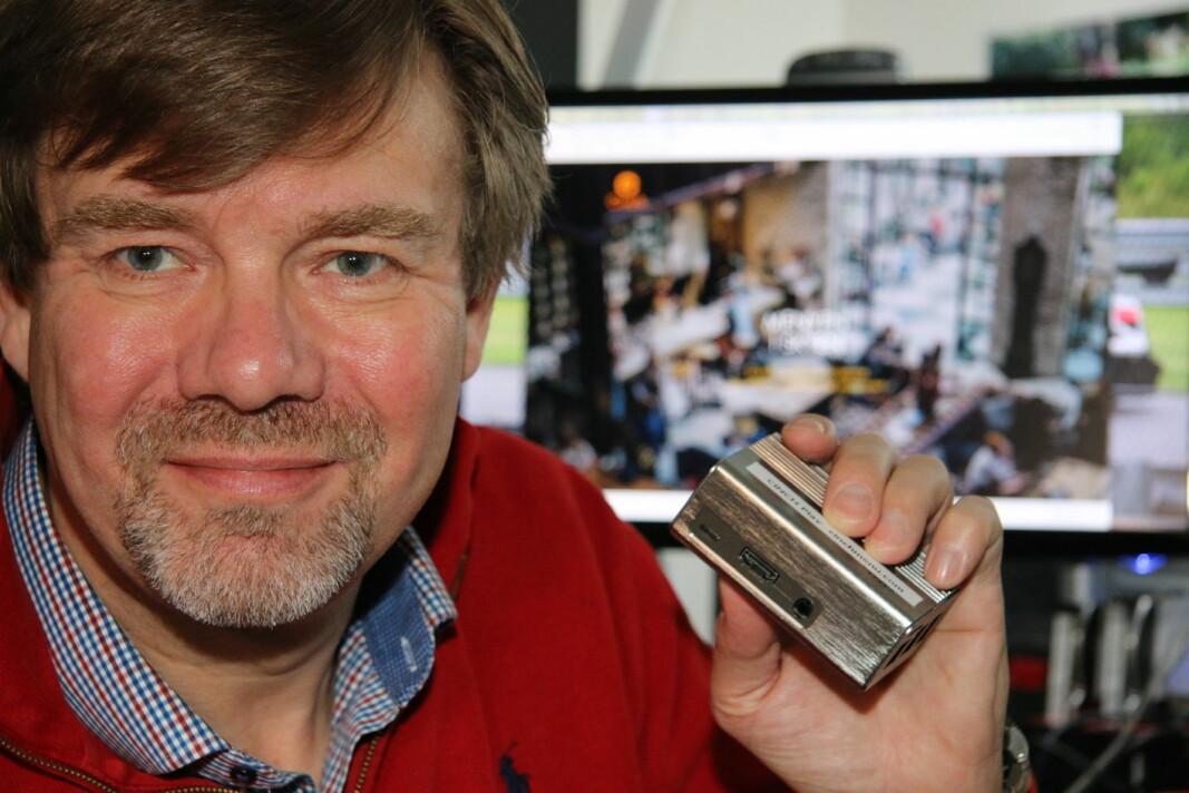 Morten A. Bilet hos Cinch. (Foto: Cinch)