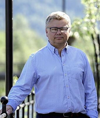 Daglig leder Hugo Mølmesdal. (Foto: Intin)