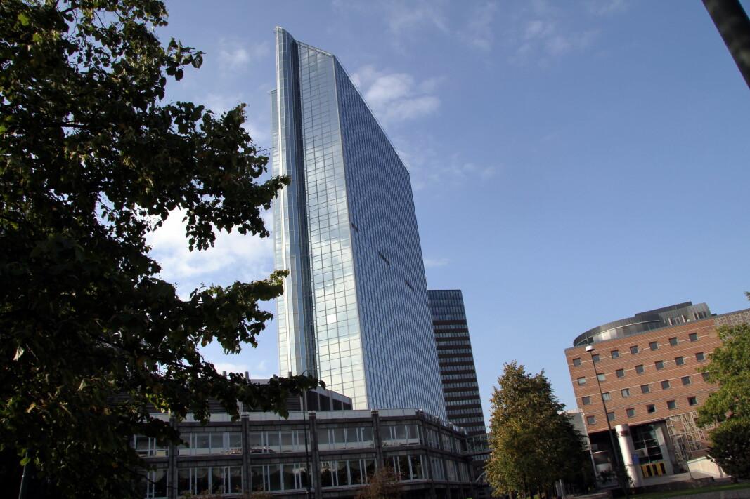 Radisson Blu Plaza Hotel i Oslo. (Foto: Morten Holt)