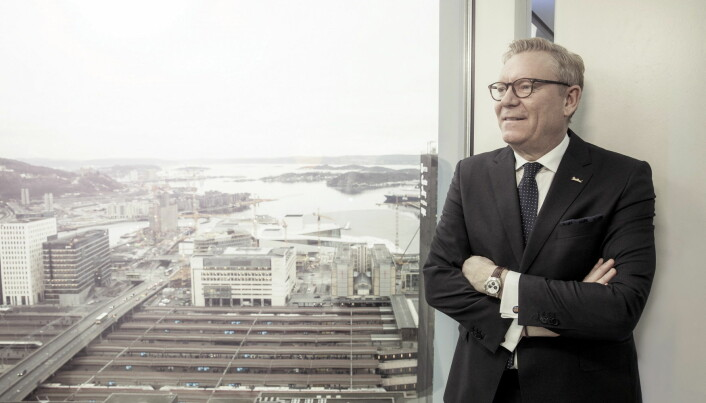 Hotelldirektør Tarje Hellebust. (Foto: Rikard L. Eriksson)