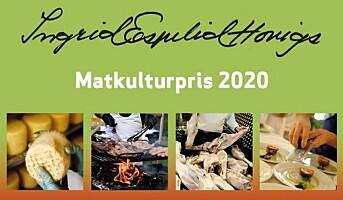 Har du en kandidat til Ingrid Espelid Hovigs matkulturpris?