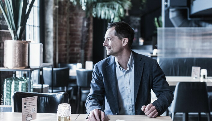Clas Skjeldam, driftssjef på Graffi Grill på Solsiden. (Foto: Bård Ivar Basmo/Wink)