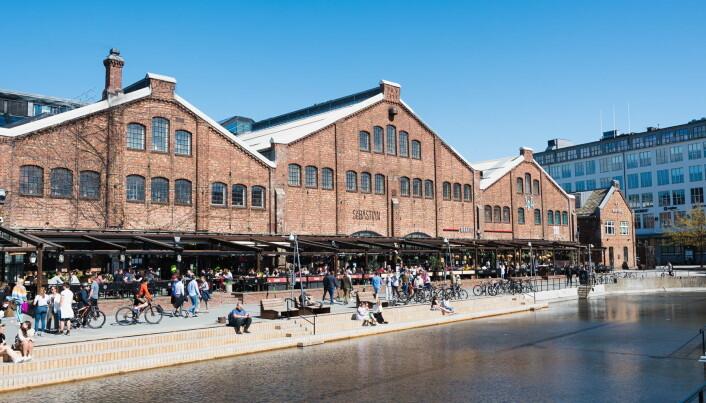 Solsiden i Trondheim. (Foto: Bård Ivar Basmo/Wink)