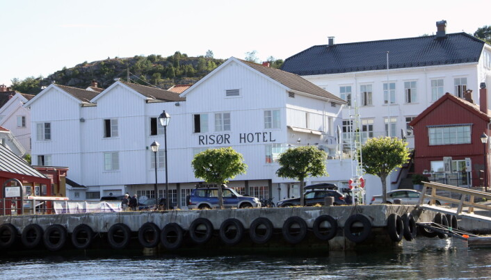 Risør Hotel. (Foto: Morten Holt)