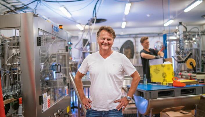 Finalist Tormod Stene-Johansen, daglig leder i Nøisom. (Foto: Michael Johnsen)