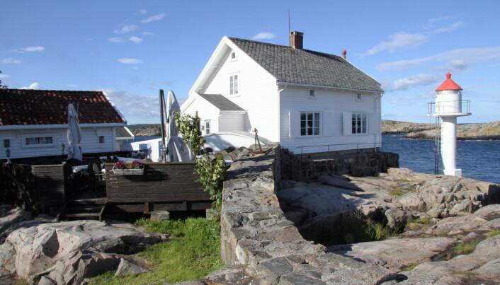 Stangholmen fyr. (Foto: Morten Holt)