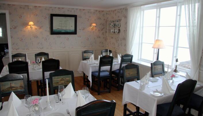 Restauranten på Stangholmen fyr. (Foto: Morten Holt)