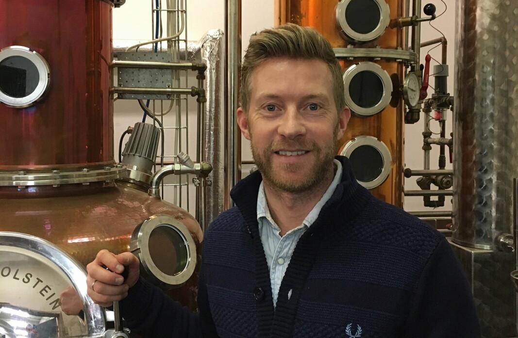 Produktsjeg på Det Norske Brenneri, Jarle Nereng. (Foto: Det Norske Brenneri)