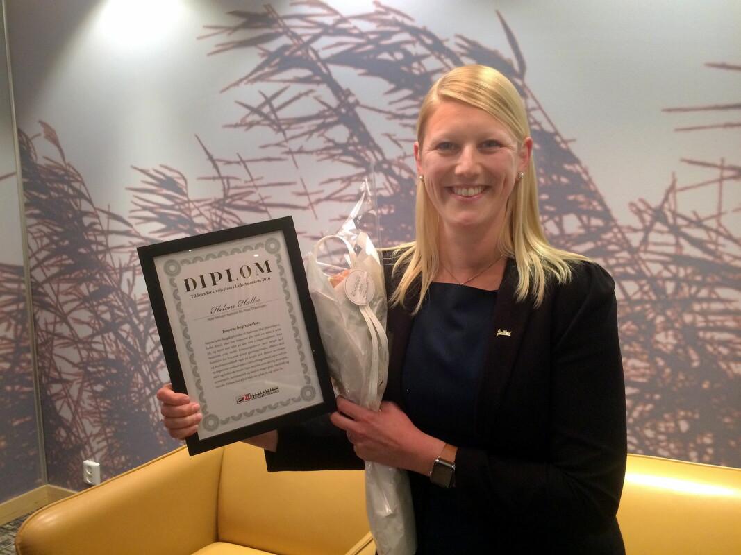 Helene Hallre fra Oslo leder Nordens første Radisson Red-hotell. (Foto: Morten Holt)