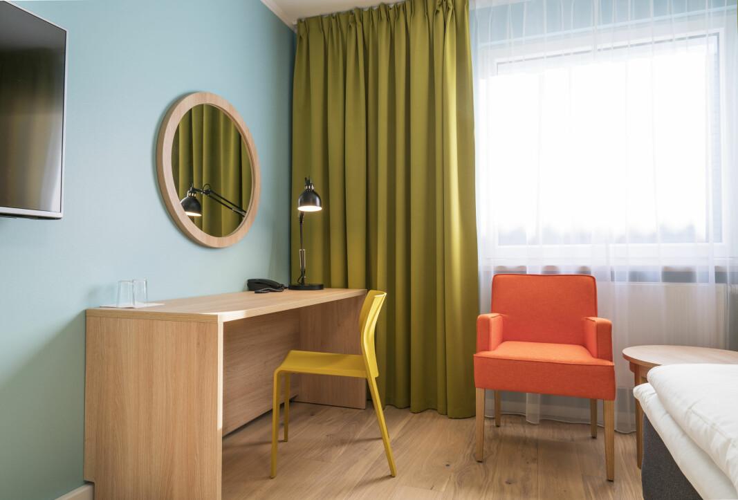 Thon Hotels åpnet et nytt hotell i Verdal 1. august. (Foto: Thon Hotels)