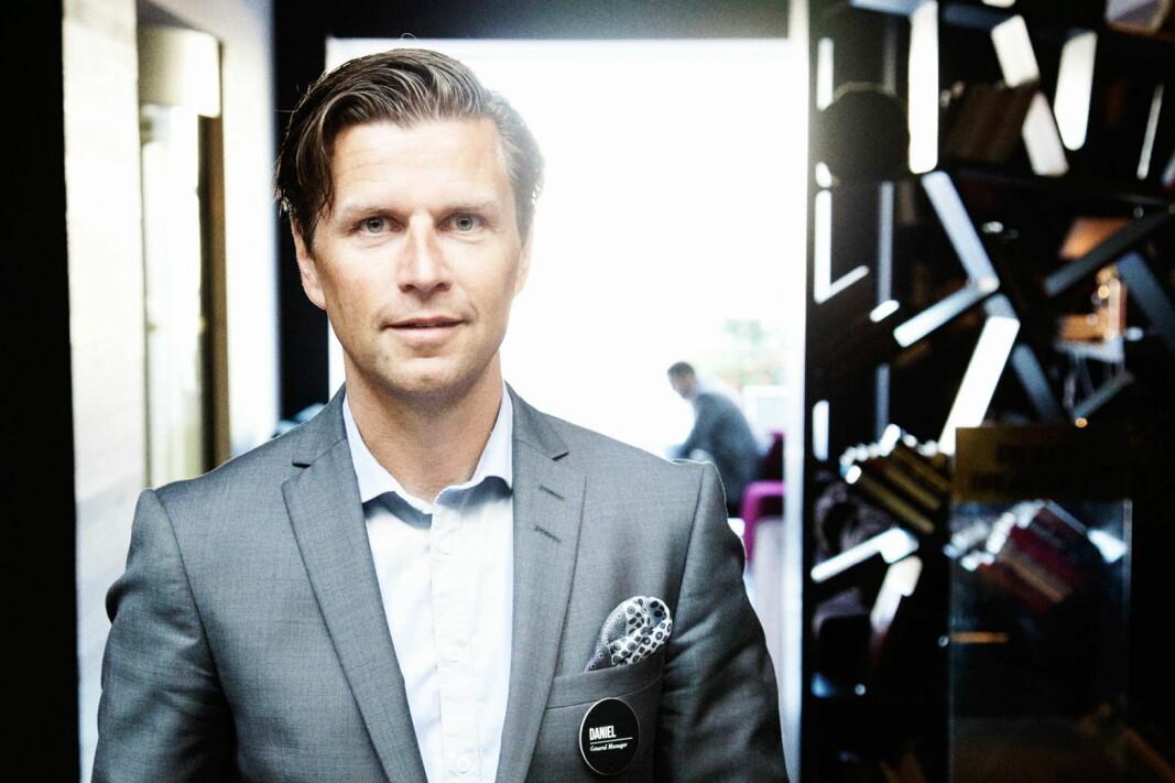 Daniel Stenbäck blir ny leder for alle Strawberrys eiendomsselskaper. (Foto: Strawberry)
