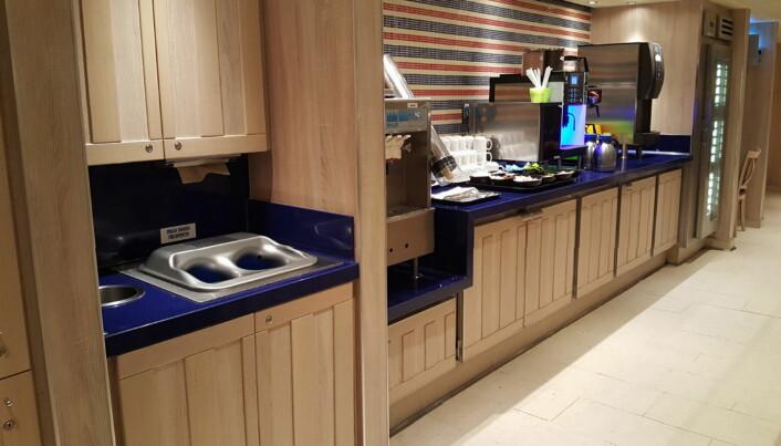Slik kan for eksempel den helautomatiske håndvaskemaskinen plasseres. (Foto Primulator)