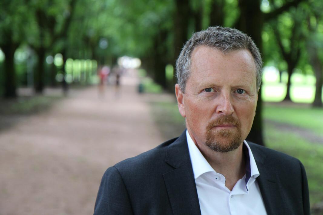 Direktør i Drift og Service i NHO Service og Handel, Jorulf Brøvig Silde. (Foto: NHO Service og Handel)