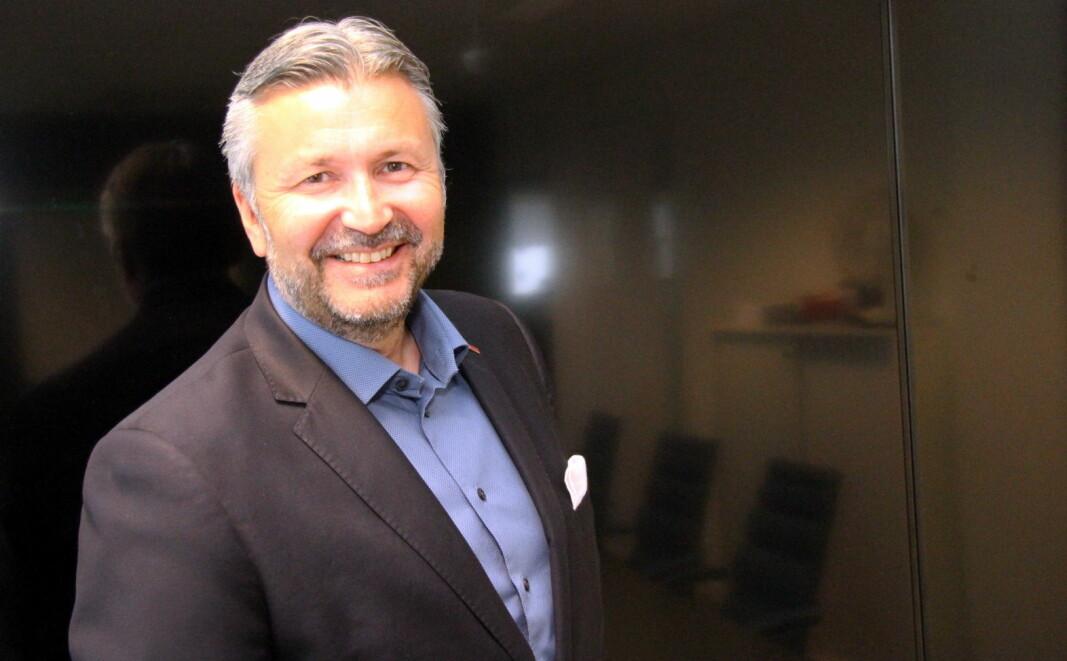Svein Arild Steen-Mevold forlater Scandic Hotels. (Foto: Morten Holt)