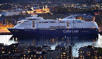 Passasjerene går ikke i land i Kiel