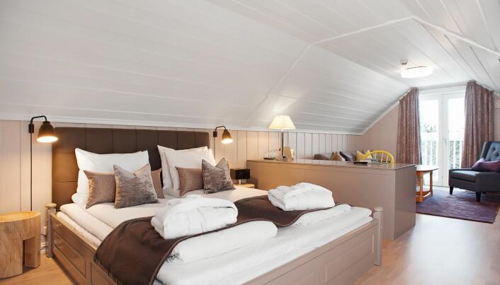 Rom på Lysebu. (Foto: Hotels.com)