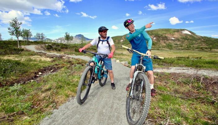 Fra de nye sykkelløpene rundt Beitostølen, som stadig bygges ut i idylliske omgivelser 1000 meter over havet. (Foto: DestinasjonsKirurgene)