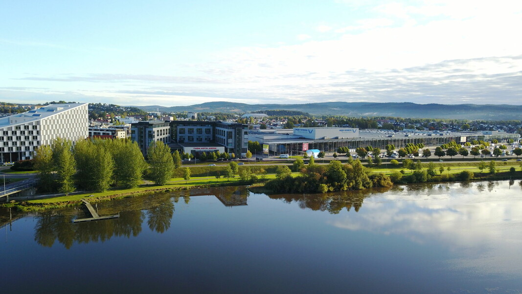 Thon Hotel Arena ved Norges Varemesse har gjenåpnet. (Foto: Norges Varemesse)