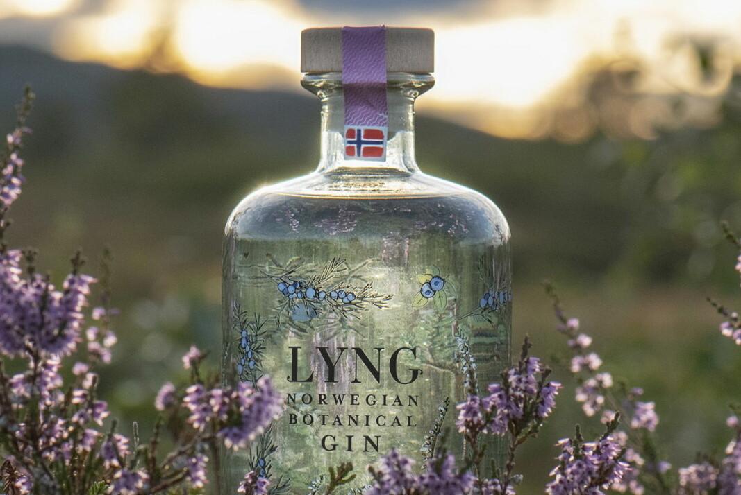 Lyng Botanical Gin. (Foto: Det Norske Brenneri)