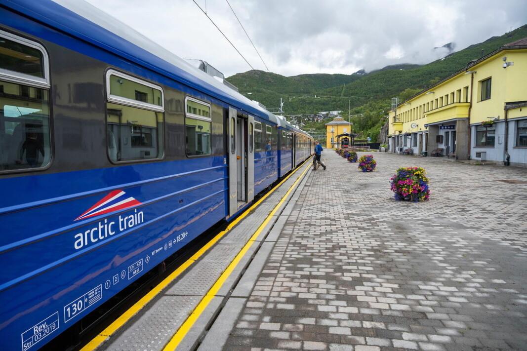 Samarbeidet mellom Arctic Train og Flåm vil styrke et helhetlig reiselivstilbud til både nordmenn og internasjonale turister heile året. (Foto: Arctic Train)