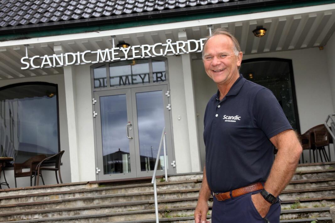 Ove Bromseth har ledet Scandic Meyergården i 25 år (Foto: Morten Holt)