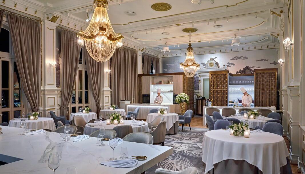 Nå er den nye utgaven av Speilsalen på Britannia Hotel åpnet. (Foto: Speilsalen/Lars Petter Pettersen)