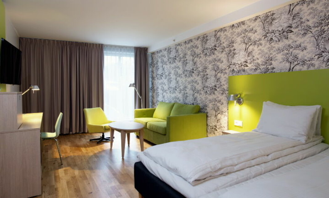 I samråd med lokale helsemyndigheter er det bestemt at Thon Hotel Sandven i Norheimsund stenges midlertidig. (Foto: Thon Hotels)