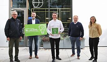 Christer Rødseth fikk matredderpris