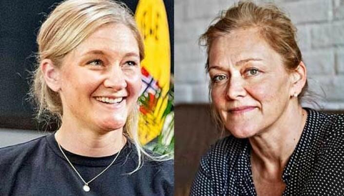 Kaja Skogborg-Hansen og Heidi Bjerkan kan vinne prisen. (Foto: Matmerk)