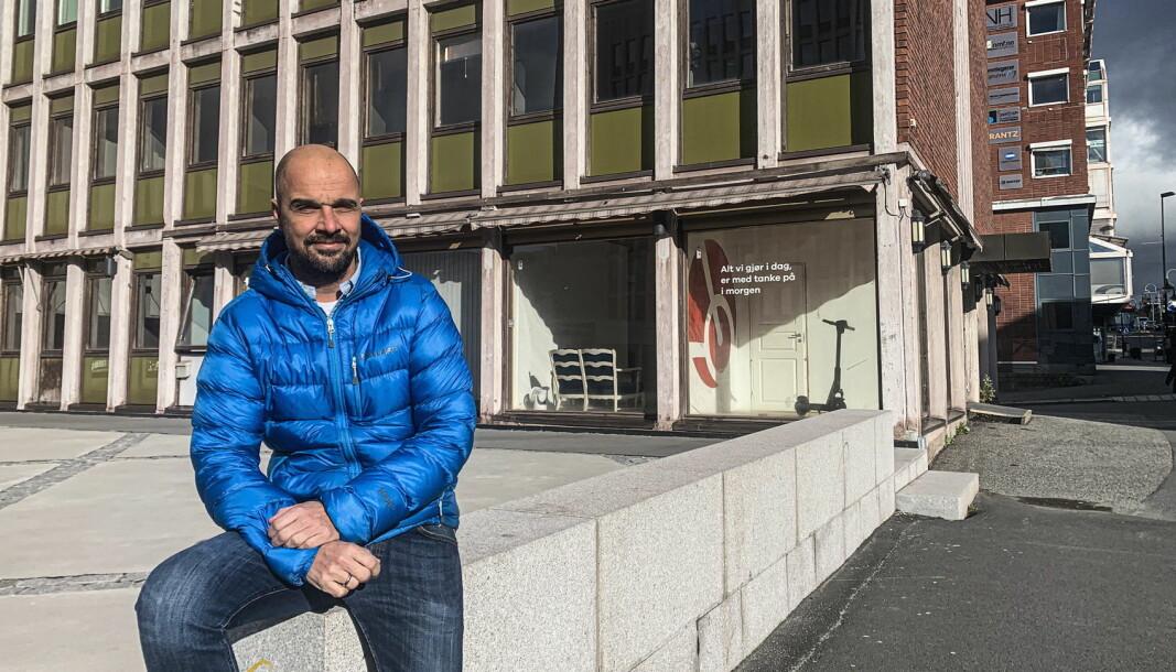 Preben Bussoli jakter ny driver av et serveringssted i Narvik. (Foto: Narvikgården)
